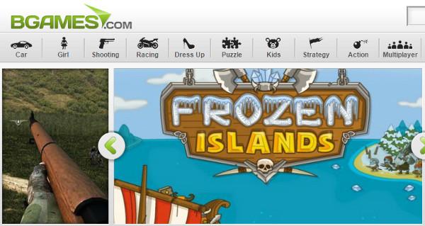 BGames Online Gaming Website