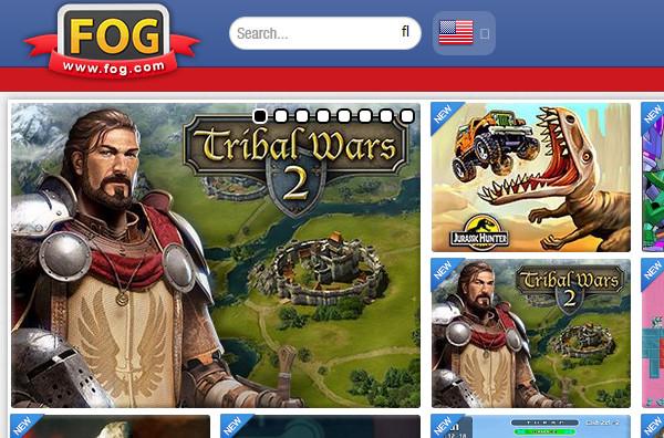 FOG Online Gaming Website
