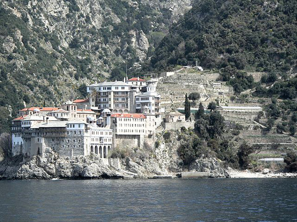 The Monastery of Gregoriou Greece