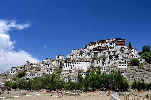 Thikse Monastery ,Leh, India