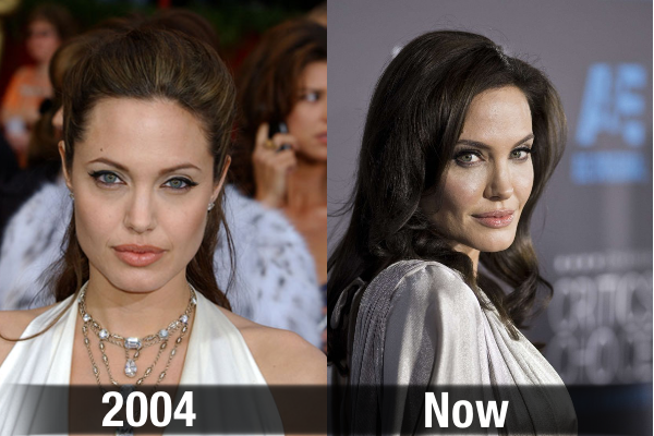 Angelina Jolie Never Aging