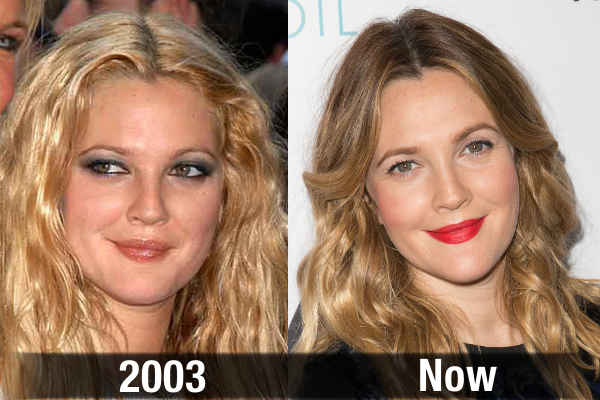 Drew Barrymore Never Aging