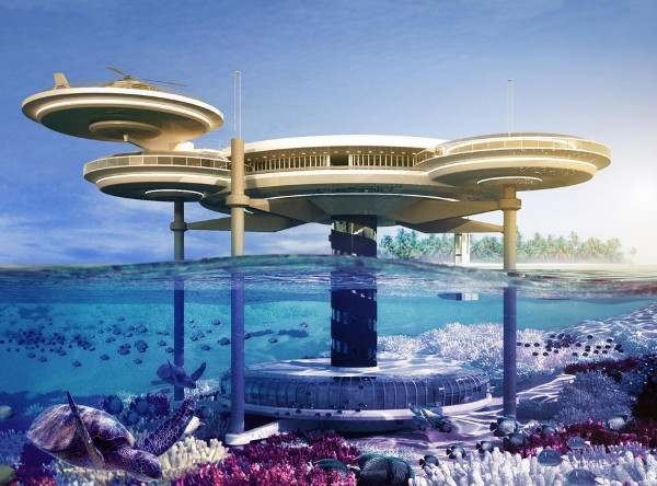 10 magnificent underwater hotels in the world listamaze for Biggest hotel in dubai