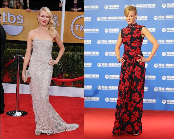 Model Nicole Kidman Standing Tall