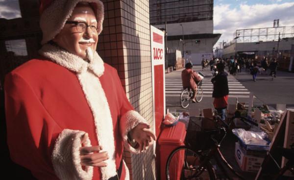 Christmas KFC in Japan