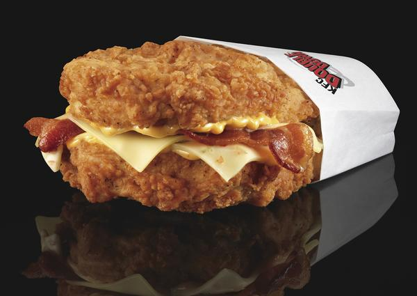 KFC Double Down Secret Menu Item