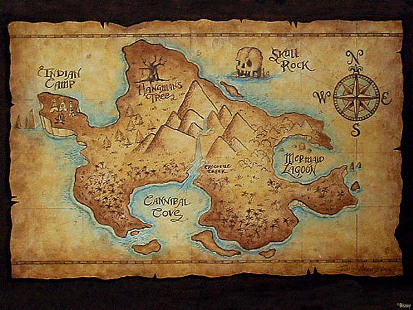 Mysterious-Neverland-Map