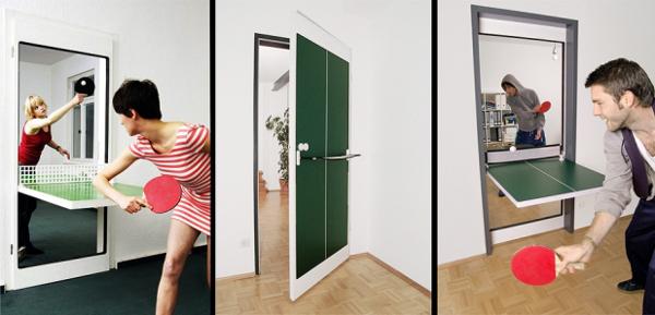 Ping-Pong Door