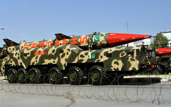 Pakistan Nuclear Missiles