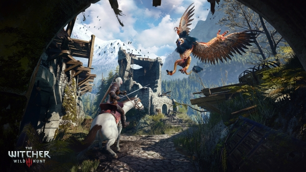 The Witcher 3 Wind Hunt