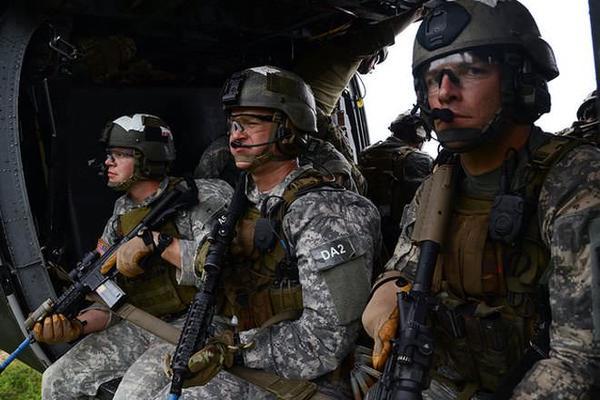 Green Berets USA Commandos
