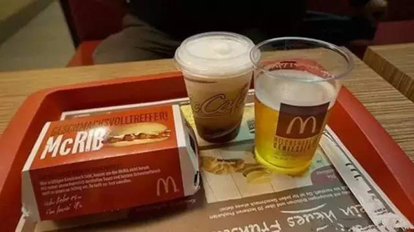 McDonald's Beer