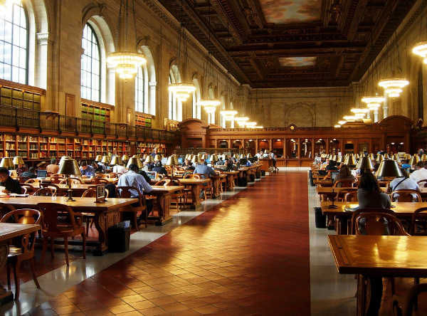 New York Public Library Beautiful Interior