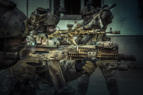 Russian Spetsnaz Commandos