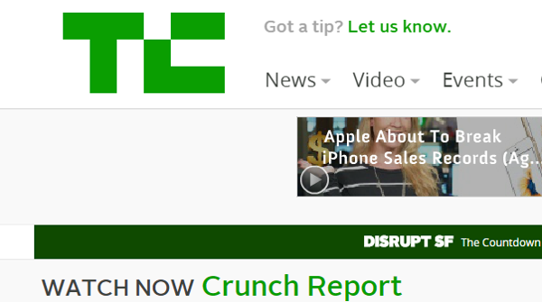 Techcrunch Tech Blog