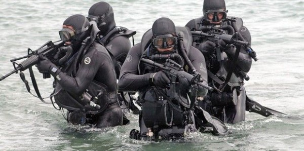 US Navy SEALS Commandos