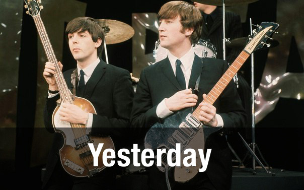 Yesterday by John Lennon and Paul McCartney