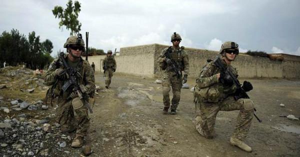 Afghanistan anti terrorism US troops