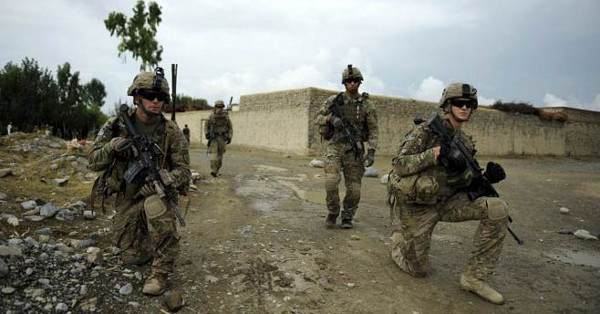 Afghanistan anti terrorism US troops