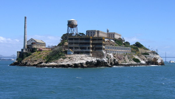 Alcatraz Federal Penitentiary USA