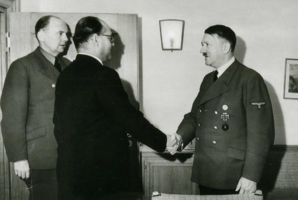 Hitler Meets Subhas Chandra Bose - Hitler Buried in Kashmir