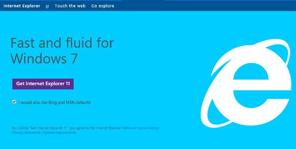 Internet Explorer Web Browser
