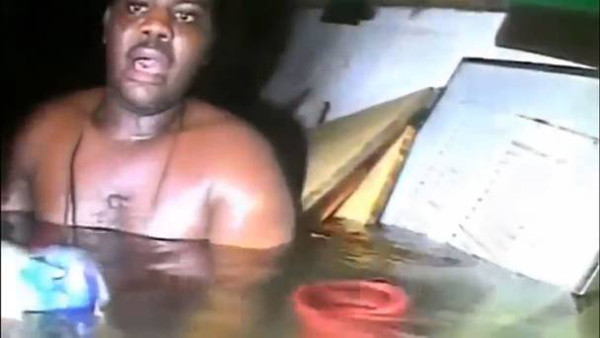 Man found alive in sunken ship (Generated thumbnail)