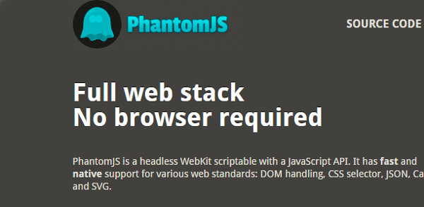 PhantomJS Browser