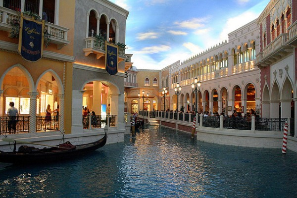 The Grand Canal Shoppes Las Vegas