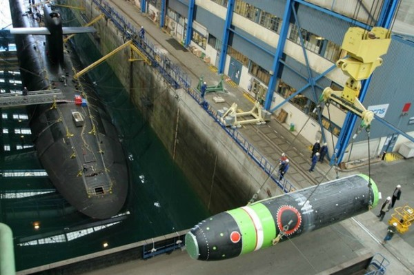 M51 French Submarine Nuclear Missile