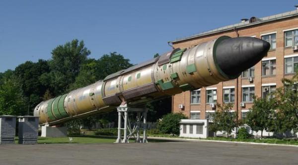 R-36M2 Russian Nuclear ICMB