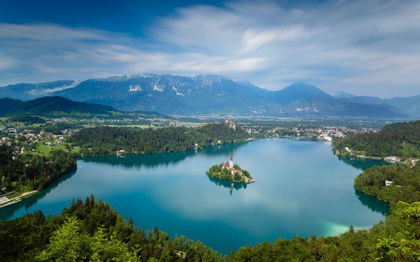 Bled Slovenia Skydiving
