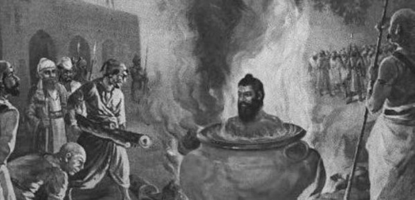 Death by boiling