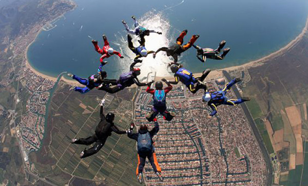 Empuriabrava Skydiving in Spain