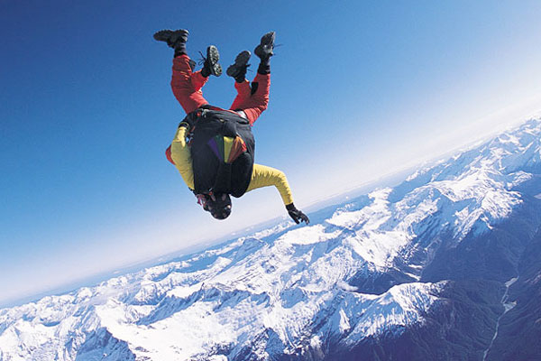 Fox Glaciers New Zealand Skydiving