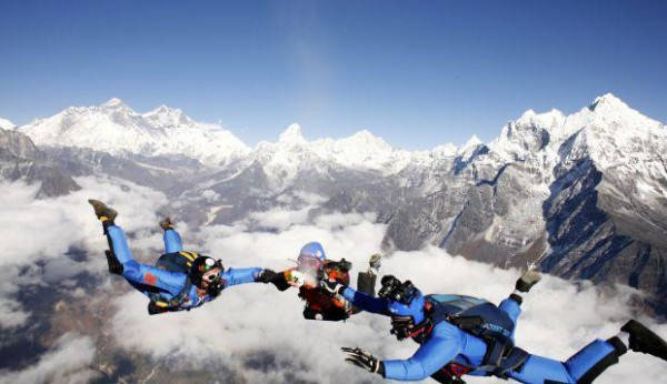 Mount Everest Skydiving