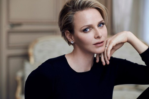Beautiful Princess Charlene of Monaco
