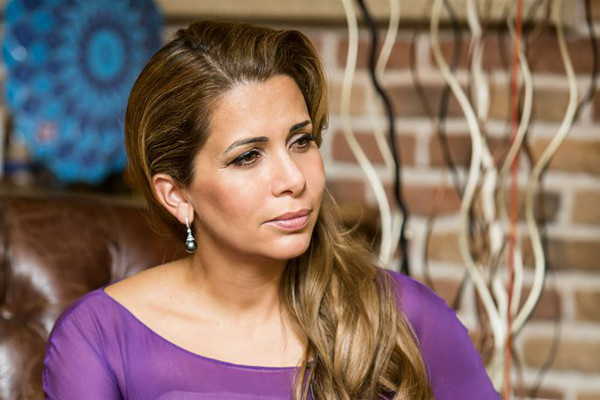 Beautiful Princess Haya of Jordon