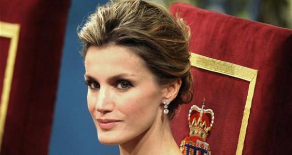 Beautiful Princess Letizia of Asturias