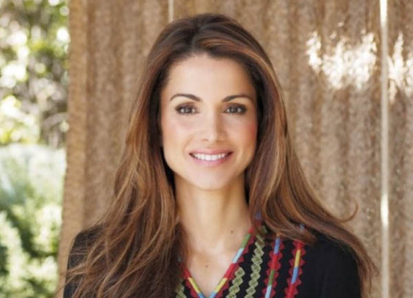 Beautiful Queen Rania of Jordon