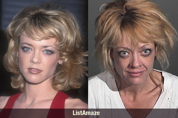 Lisa Robin Kelly Before and After Drugs