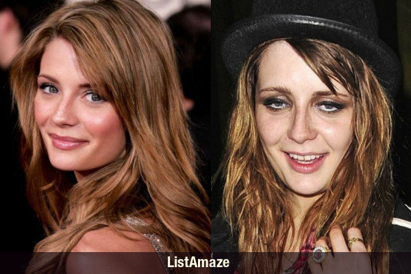 Mischa Barton Before and After Drugs