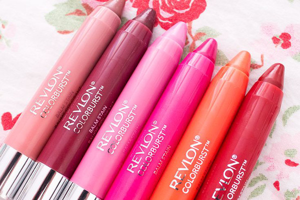 Revlon Color Burst Just Bitten Kissable Balm stain