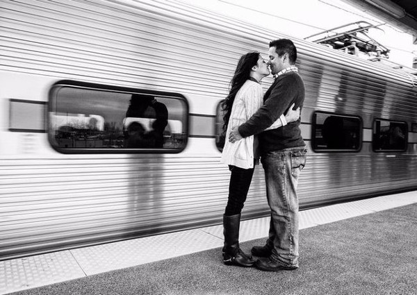 In France It is Illegal to Kiss in Railway Platform