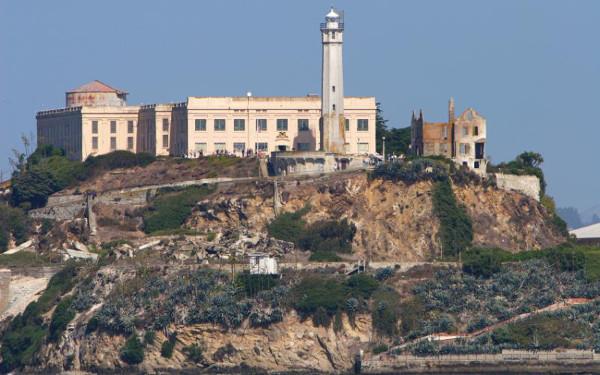 Alcatraz Island Prison USA