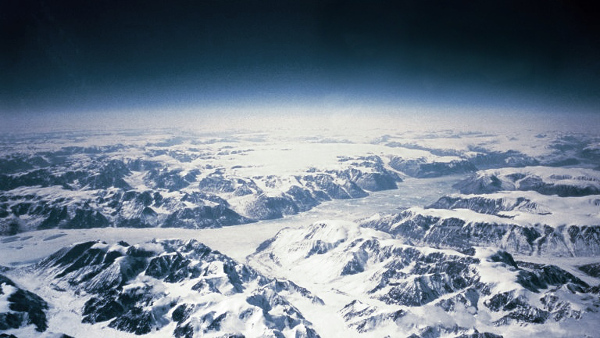 North ice in Greenland is the 9th Coldest Place in the World
