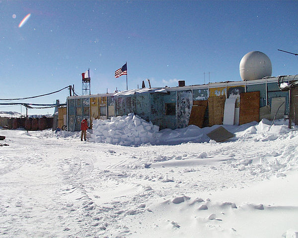 Russia's Vostok Research Station is the Coldest Ever Recorded Place on Earth Using Thermometer