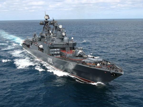 Russian Navy Destroyer