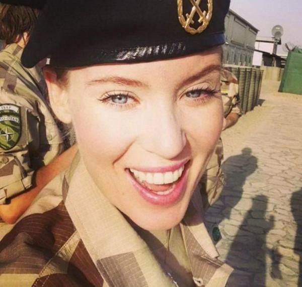 Swedish Beautiful Female Soldiers