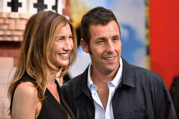 Adam Sandler with Wife Jackie Sandler